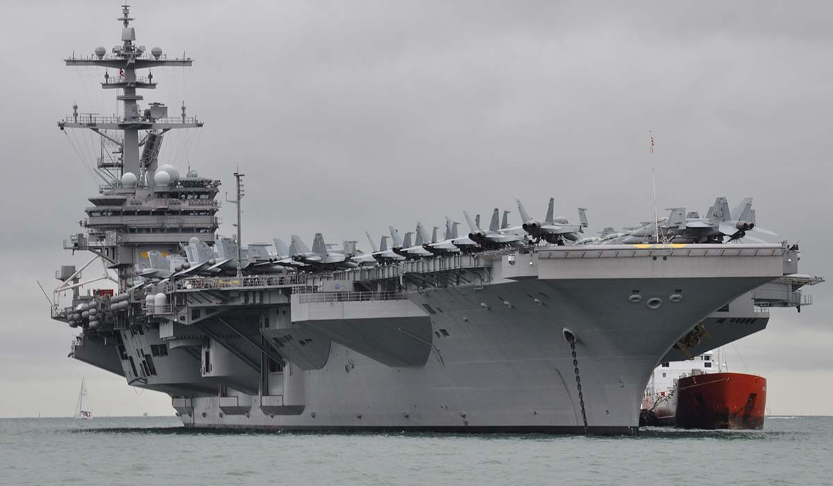 USS George W Bush