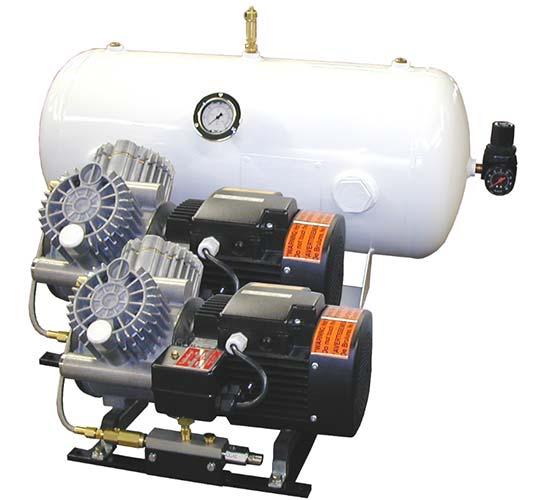 Kahlenberg KA4000 marine air compressor