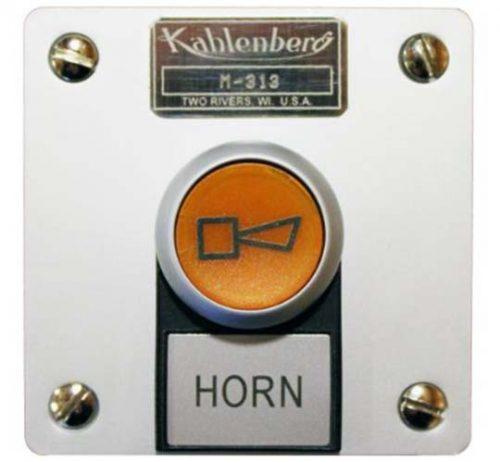 Kahlenberg M-313 illuminated horn push button