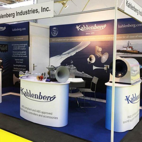 Kahlenberg stand at SMM Hamburg 2018